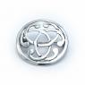 Silver celtic brooch