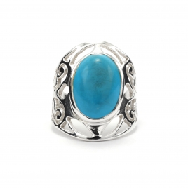 Tuquoise silver ring