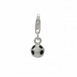 Silver ball charm